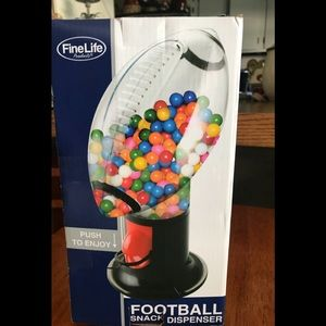 FineLife Football Snack Candy Dispenser